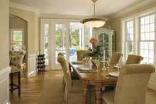 House Plan Design - Southern Interior - Dining Room Plan #930-123