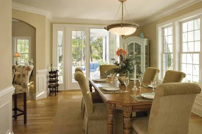 Country Interior - Dining Room Plan #930-123 - Houseplans.com