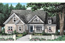 Craftsman Exterior - Front Elevation Plan #927-929