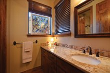 House Plan Design - Country Interior - Bathroom Plan #140-171