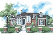Colonial Style House Plan - 3 Beds 3.5 Baths 2913 Sq/Ft Plan #930-292 Exterior - Front Elevation