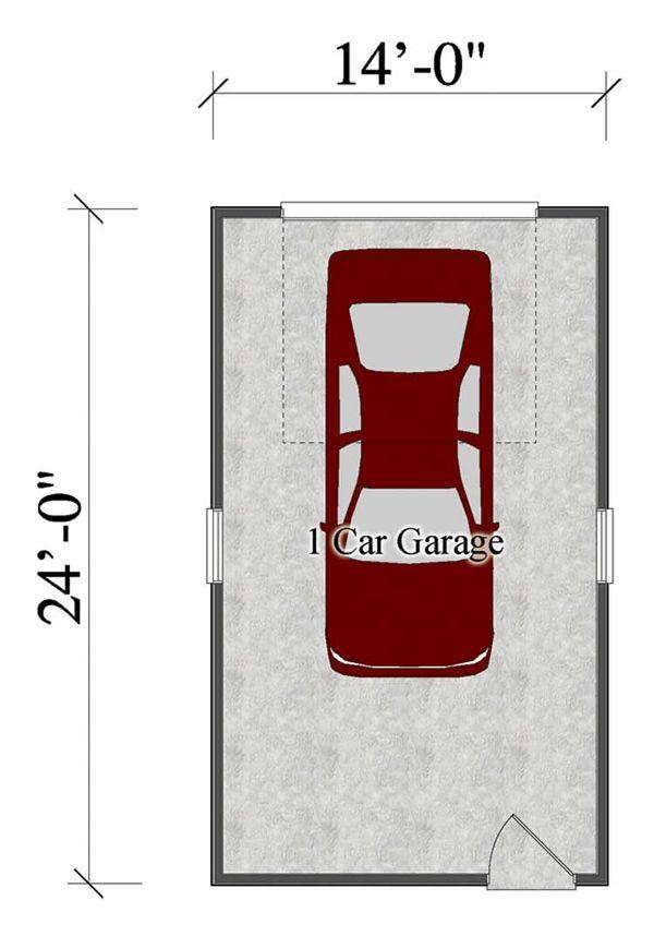 Floor Plan - Main Floor Plan Plan #306-123