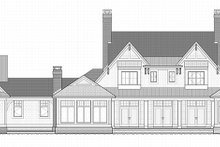 Country Exterior - Rear Elevation Plan #928-284