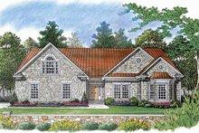 Craftsman Exterior - Front Elevation Plan #453-536