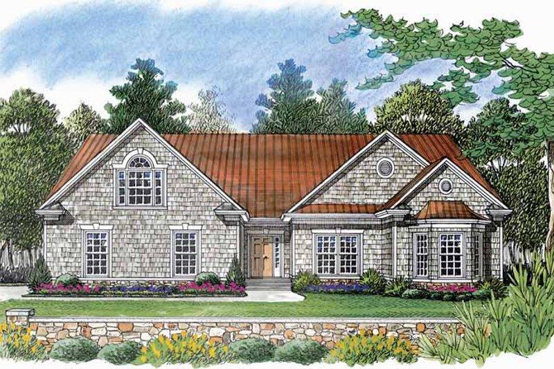 House Plan Design - Craftsman Exterior - Front Elevation Plan #453-536