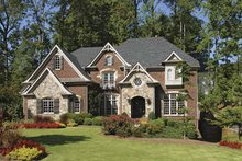 Architectural House Design - Craftsman Exterior - Front Elevation Plan #54-288