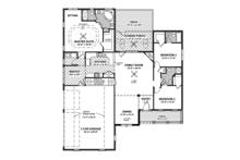Country Floor Plan - Main Floor Plan Plan #56-695