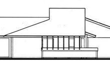 Contemporary Exterior - Other Elevation Plan #30-335
