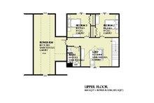 Farmhouse Floor Plan - Upper Floor Plan Plan #901-132