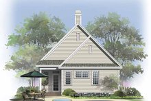 Home Plan - Ranch Exterior - Rear Elevation Plan #929-825