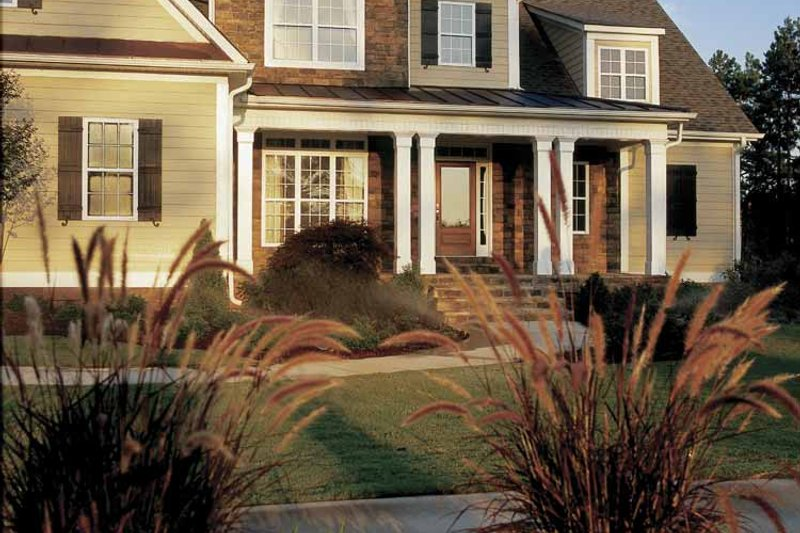 Country Exterior - Front Elevation Plan #927-854 - Houseplans.com