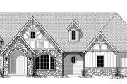 Tudor Style House Plan - 3 Beds 2.5 Baths 2821 Sq/Ft Plan #943-44