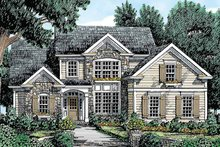 House Plan Design - Country Exterior - Front Elevation Plan #927-271