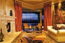 Mediterranean Interior - Family Room Plan #930-316
