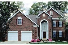 House Plan Design - Traditional Exterior - Front Elevation Plan #453-474