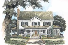 House Design - Victorian Exterior - Front Elevation Plan #429-200