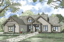 Traditional Exterior - Front Elevation Plan #17-3316