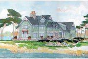 Traditional Style House Plan - 5 Beds 4.5 Baths 4448 Sq/Ft Plan #928-23