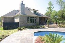 House Plan Design - Traditional Exterior - Rear Elevation Plan #17-2757
