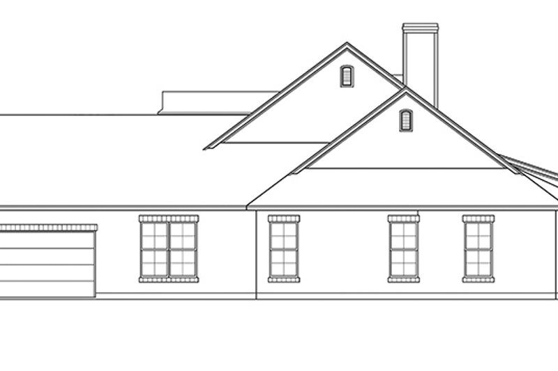 Country Exterior - Other Elevation Plan #472-248 - Houseplans.com