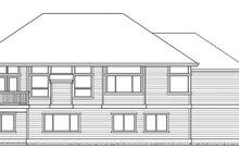 Craftsman Exterior - Rear Elevation Plan #132-341