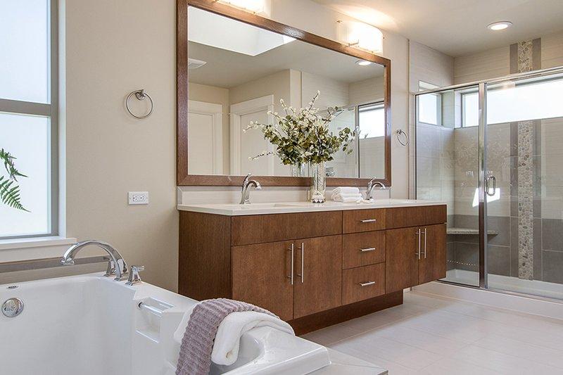 Contemporary Interior - Master Bathroom Plan #132-564 - Houseplans.com