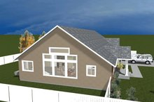 Architectural House Design - Traditional Exterior - Other Elevation Plan #1060-20