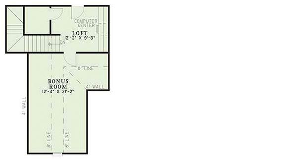 European Floor Plan - Other Floor Plan Plan #17-526