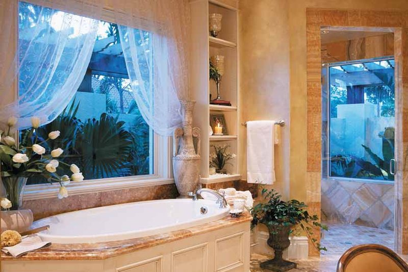 Mediterranean Interior - Bathroom Plan #930-314 - Houseplans.com