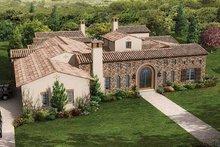Architectural House Design - Mediterranean Exterior - Front Elevation Plan #944-1