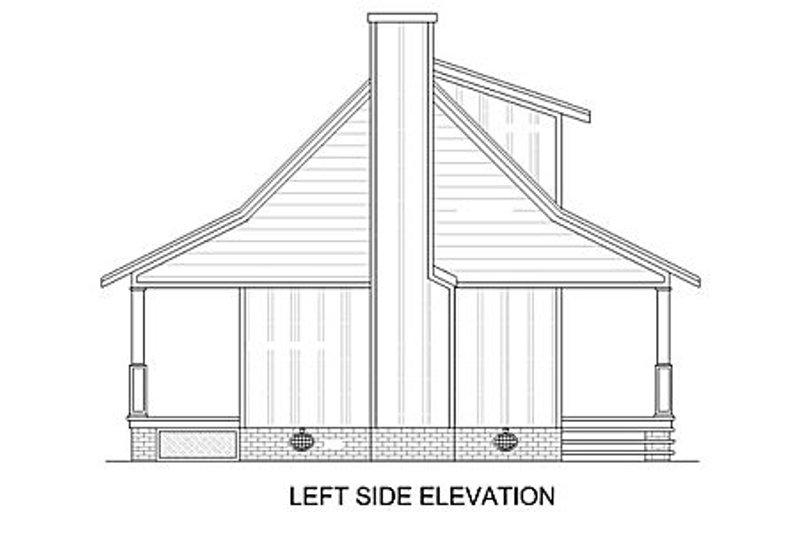 Cabin Exterior - Other Elevation Plan #45-335 - Houseplans.com