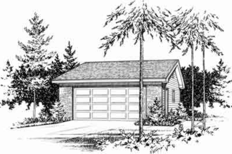 House Design - Traditional Exterior - Front Elevation Plan #22-436