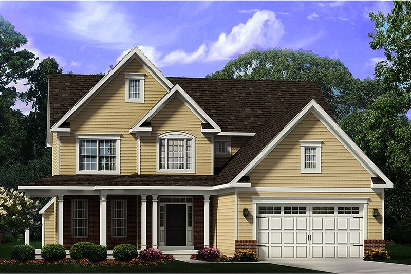House Plan Design - Country Exterior - Front Elevation Plan #1010-246