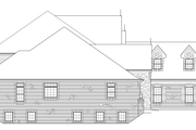Tudor Style House Plan - 4 Beds 4.5 Baths 6088 Sq/Ft Plan #57-575 Exterior - Other Elevation