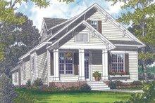 Dream House Plan - Bungalow Exterior - Front Elevation Plan #453-6
