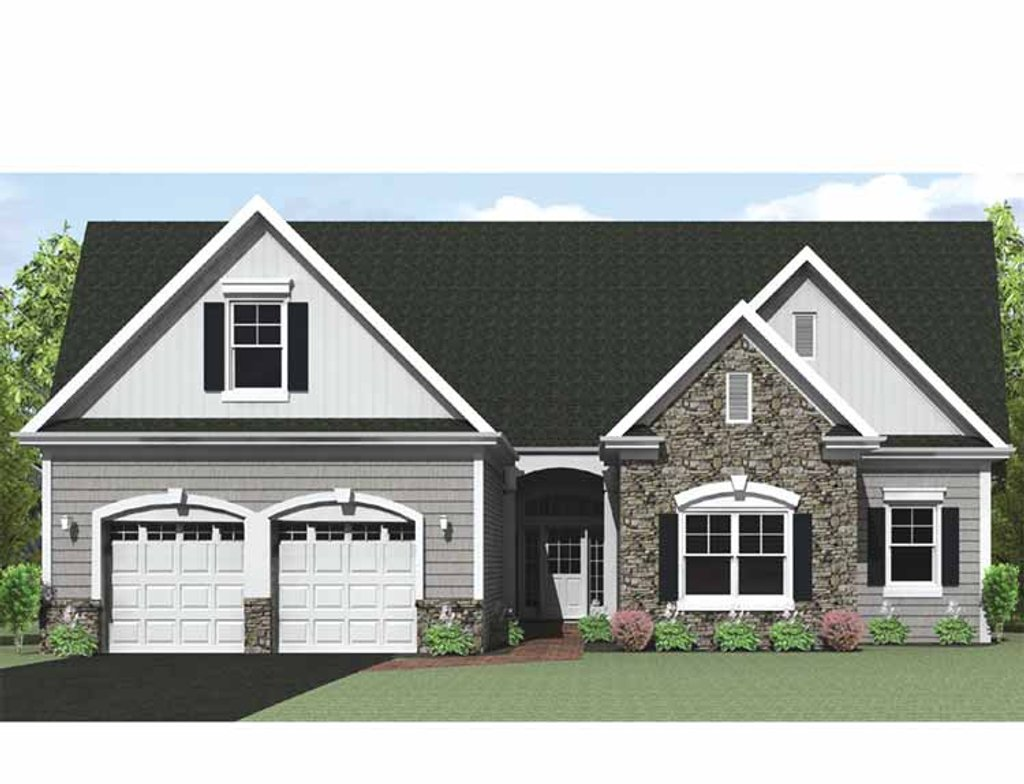 Ranch style house plan 3 beds 2 5 baths 1903 sq ft plan for Rambler house vs ranch house