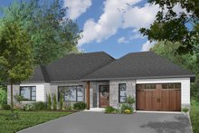 Home Plan - Ranch Exterior - Front Elevation Plan #23-2650