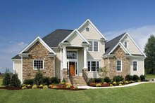 Dream House Plan - Country Exterior - Front Elevation Plan #929-672