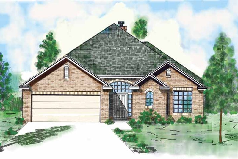 Home Plan - Country Exterior - Front Elevation Plan #52-260