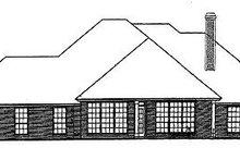 Dream House Plan - European Exterior - Rear Elevation Plan #310-406