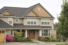 Country Exterior - Front Elevation Plan #48-832