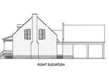 Dream House Plan - Southern Exterior - Other Elevation Plan #45-189