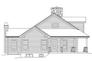 Country Style House Plan - 3 Beds 3 Baths 2593 Sq/Ft Plan #57-641 Exterior - Other Elevation