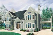 Traditional Style House Plan - 2 Beds 1.5 Baths 4397 Sq/Ft Plan #23-2153 Exterior - Front Elevation
