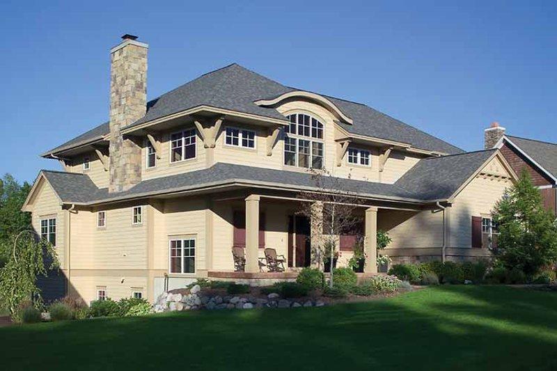 Craftsman Exterior - Front Elevation Plan #928-186