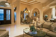 Home Plan - Mediterranean Interior - Family Room Plan #930-193