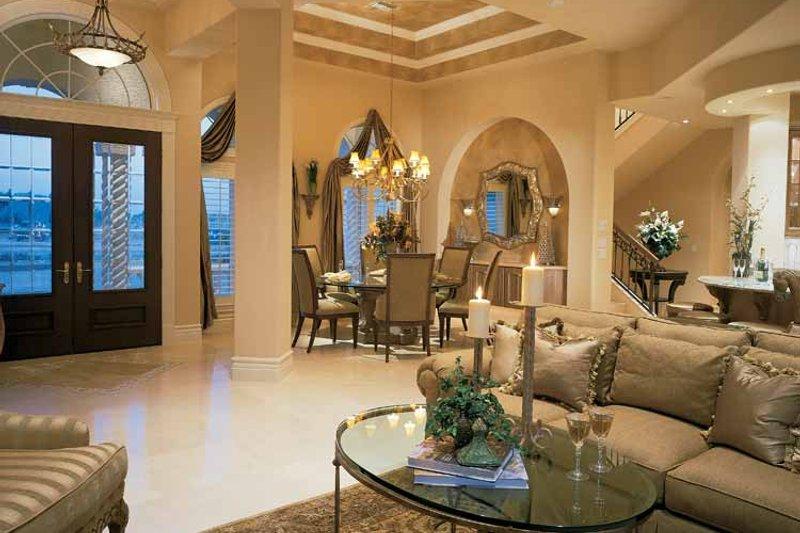 Mediterranean Interior - Family Room Plan #930-193 - Houseplans.com