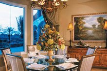 Dream House Plan - Mediterranean Interior - Dining Room Plan #930-330