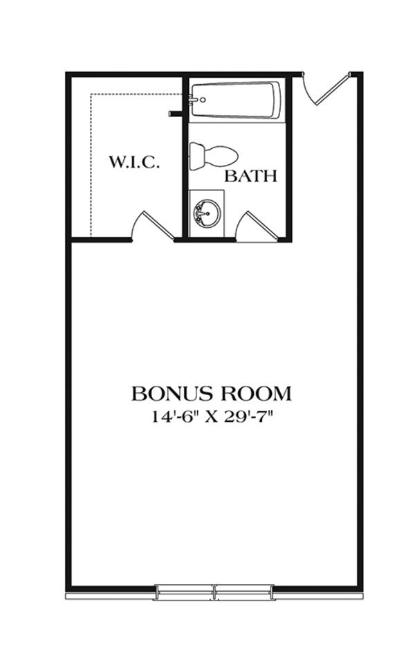 Ranch Floor Plan - Other Floor Plan Plan #453-630