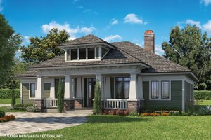 Craftsman Exterior - Front Elevation Plan #930-462